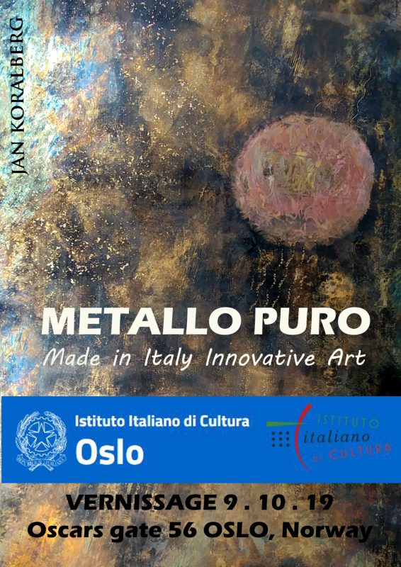 Oslo Norway pure metal art exhibition