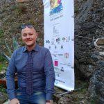 All'ingresso del Castello di Riomaggiore