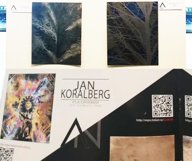 JAN KORALBERG - JUST PURE METAL ART